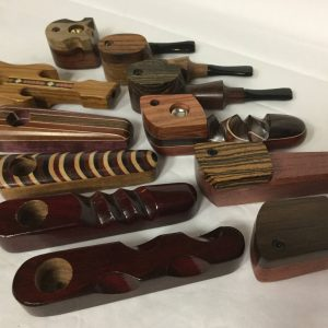Traditional Wooden Pipes